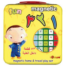 الأرقام- عربي- قطع مغنطسية